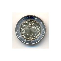 Alemania 2007 2 Euros Ceca J. Tratado de Roma S/C