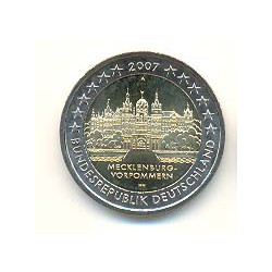 Alemania 2007 2 Euros Ceca A. Mecklenburg-Vorpommern S/C