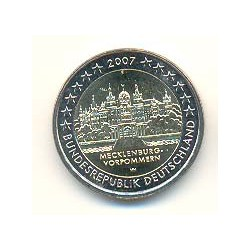 Alemania 2007 2 Euros Ceca D. Mecklenburg-Vorpommern S/C
