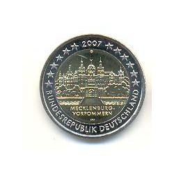 Alemania 2007 2 Euros Ceca G. Mecklenburg-Vorpommern S/C
