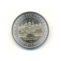 Alemania 2007 2 Euros Ceca J. Mecklenburg-Vorpommern S/C