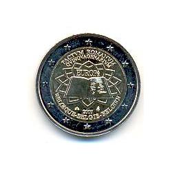 Bélgica 2007 2 Euros Tratado de Roma S/C