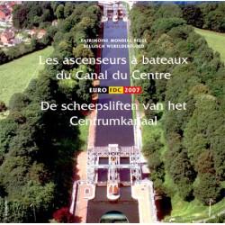 Bélgica 2007 Cartera Oficial FDC