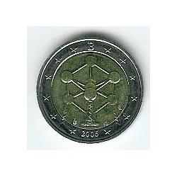Bélgica 2006 2 Euros Reapertura del Atomium S/C