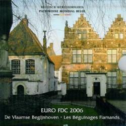 Bélgica 2006 Cartera Oficial FDC