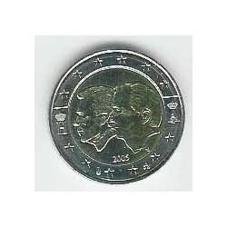 Bélgica 2005 2 Euros Henri y Albert S/C