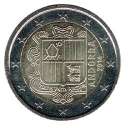 Andorra 2014 2 Euros S/C
