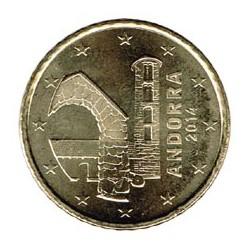 Andorra 2014 50 Céntimos S/C