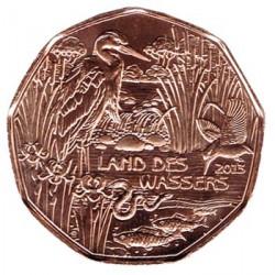 Austria 2013 5 Euros. Tierra de Agua S/C