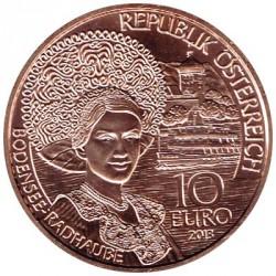 Austria 2013 10 Euros. Voralberg S/C