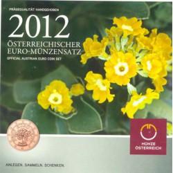 Austria 2012 Cartera Oficial S/C