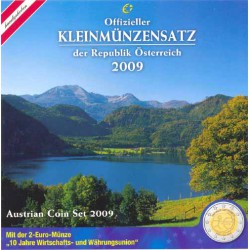 Austria 2009 Cartera Oficial S/C