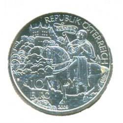 Austria 2009 10 Euros. Ricardo Corazón de León S/C