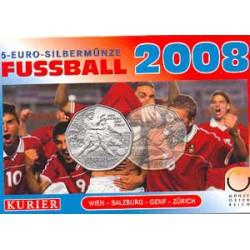 Austria 2008 5 Euros circulante Plata S/C