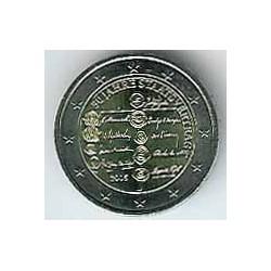 Austria 2005 2 Euros. 50 Aniv. Tratado Autriaco S/C