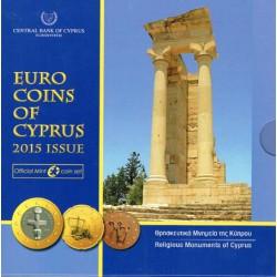 Chipre 2015 Cartera Oficial S/C