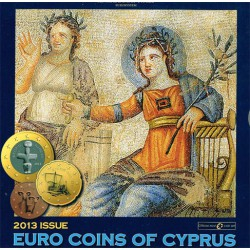 Chipre 2013 Cartera Oficial S/C