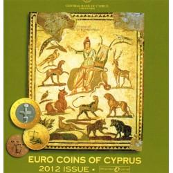 Chipre 2012 Cartera Oficial S/C