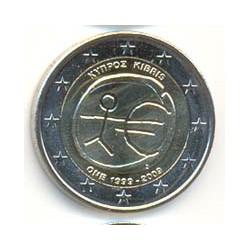 Chipre 2009 2 Euros 10º Aniv. del Euro S/C