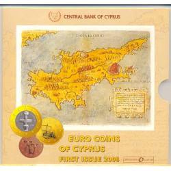 Chipre 2008 Cartera Oficial S/C