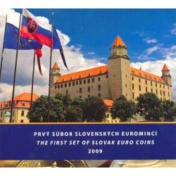 Eslovaquia 2009 Cartera Oficial S/C