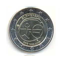 Eslovaquia 2009 2 Euros 10º Aniv. del Euro S/C