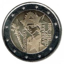 Eslovenia 2014 2 Euros Barbara Celje S/C