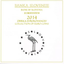 Eslovenia 2014 Cartera Oficial S/C