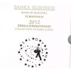 Eslovenia 2012 Cartera Oficial S/C