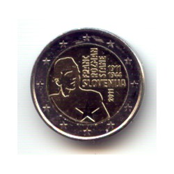Eslovenia 2011 2 Euros Franc Rozman S/C