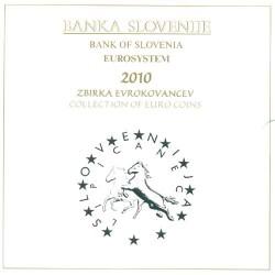 Eslovenia 2010 Cartera Oficial Con la de 3 euros. S/C