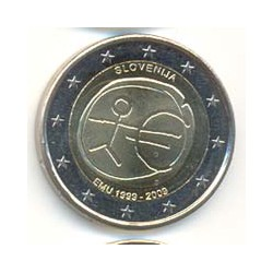 Eslovenia 2009 2 Euros 10º Aniv. del Euro S/C