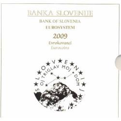 Eslovenia 2009 Cartera Oficial S/C