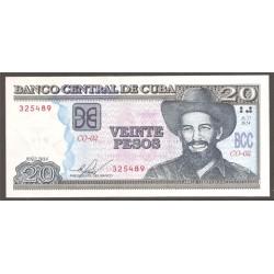 Cuba 20 Pesos PK Nuevo (122) 2014 S/C