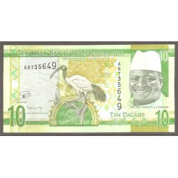 Gambia 10 Dalasis PK Nuevo 2015 S/C