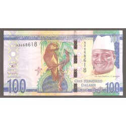 Gambia 100 Dalasis PK Nuevo 2015 S/C