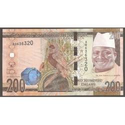 Gambia 200 Dalasis PK Nuevo 2015 S/C