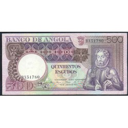 Angola 500 Escudos PK 107 (10-6-1.973) S/C