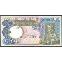Angola 1000 Escudos PK 108 (10-6-1.973) EBC
