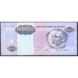Angola 100.000 Kwanzas PK 139 (1-5-1.995) S/C