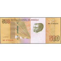 Angola 500 Kwanzas PK 155 (Octubre 2.012) S/C