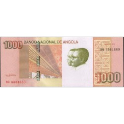 Angola 1.000 Kwanzas PK 156 (Octubre 2.012) S/C