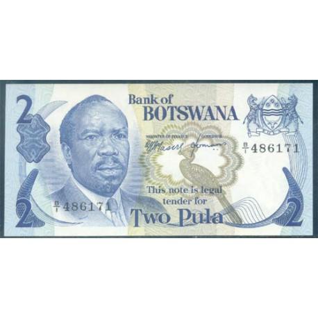 Botswana 2 Pula PK 2 (1.976) S/C