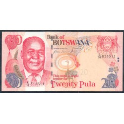 Botswana 20 Pula PK 25 (2.002) S/C
