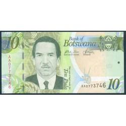 Botswana 10 Pula PK 30 (2.009) S/C