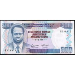 Burundi 500 Francos PK 37A (5-2-1.995) S/C