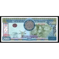 Burundi 2.000 Francos PK 41 (2.001) S/C
