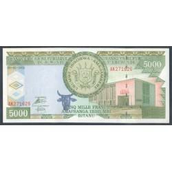 Burundi 5.000 Francos PK 42c (5-2-2.005) S/C