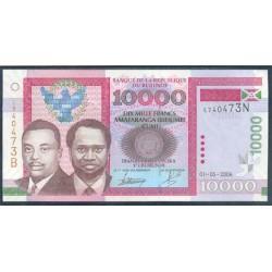 Burundi 10.000 Francos PK 43 (1-5-2.006) S/C
