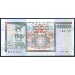 Burundi 1.000 Francos PK 46 (1-5-2.009) S/C